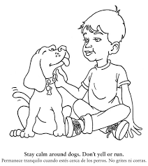 Dog Safety Coloring Book