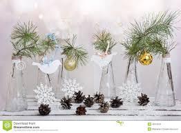 Modern Glass Vases Elegant Rectangle Red Modern Glass Within Christmas Balls On A