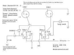 30 amp relay wiring diagram electric fan meetcolab 30 amp relay wiring diagram electric fan electric fans and a c archive