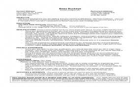 Resume For Teenager With No Work Experience Awesome Job Specific
