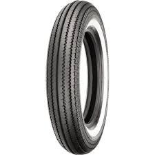 Shinko 270 Super Classic White Wall Front Rear Tire 4 00 18 87 4626