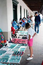 santa fe plaza indians selling their jewelry i love going to the plaza
