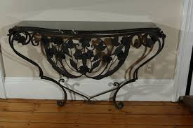 black wrought iron furniture. Black Wrought Iron Console Tables Furniture
