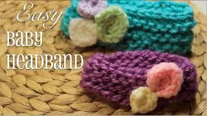 Baby Headband Knitting Pattern New Ideas