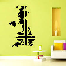uk map england vinyl wall sticker wall art decal bedroom home decoration wallpaper free shipping on vinyl wall art uk with uk map england vinyl wall sticker wall art decal bedroom home