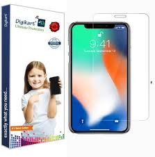 DIGIKART <b>Tempered Glass</b> Guard for Iphone X/10 Mobile <b>Screen</b> ...