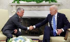 صحيفة أمريكية: ملك الأردن عرض على بايدن خارطة طريق حول سورية