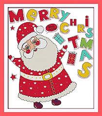 Amazon Com Happy Forever Cross Stitch Cartoon Merry