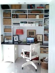 closet into office space best turned ideas on nook desk