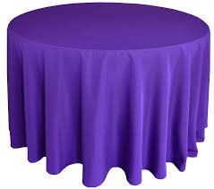 90 round polyester tablecloth regency 53163 1pc pk