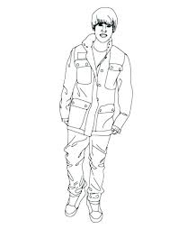 justin bieber coloring pages 6 and to print out