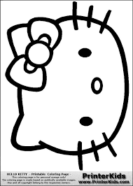 Small Picture How to draw Hello Kitty DrawingTutorials101com hello kitty