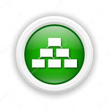 Organizational Chart Icon Stock Photo Valentint 39314865