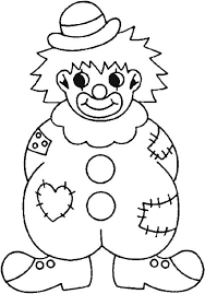 Small Picture Clown Wearing Raggery Clothes Coloring Page Color Luna