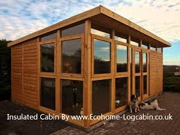 home office cabin. How To Insulate Your Shed, Garden Room, Home Office, Outdoor Workshop Or Log Cabin - YouTube Office F