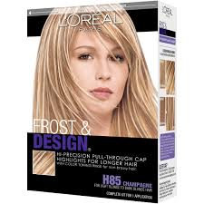 L Oreal Paris Frost And Design Highlights Champagne Loreal Paris Frost And Design Pull Through Cap Highlights