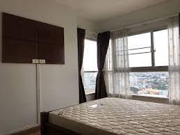 ให้เช่าคอนโด พาร์คแลนด์ ตากสิน ท่าพระ ชั้น 18 ขนาด 48 ตร.ม 2 ห้องนอน 1  ห้องน้ำ(For Rent Parkland Taksin Thapra 18th Floor Size 48 sq.m. 2 Bedroom  1 Bathroom) #1924# - J DA อสังหา :