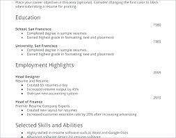 Sample Resumes For College Students Impressive Resume Templates For College Students With No Experience Good Resume