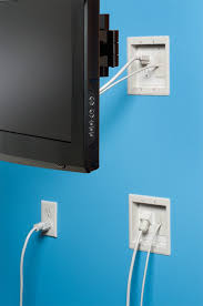 pre wired in wall power kit for tv