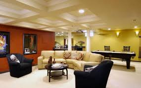Basement Family Room Decorating Ideas