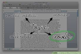 how to write a research paper sample research papers  image titled write a research paper step 1