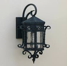spanish wall lights outdoor hand forged wrought iron lighting . spanish  wall lights ...