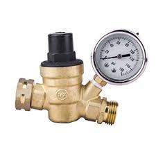 amazon nh 3 4 160 psi lead free br adjule water pressure regulator for garden hose rv home improvement