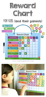 How To Use A Reward Chart Magnetic Reward Chart For Kids To Use At Home Laughing