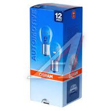 7528 <b>Лампа</b> 12V <b>P21</b>/5W BAY15d двухконтактная <b>OSRAM</b> - 7528 ...