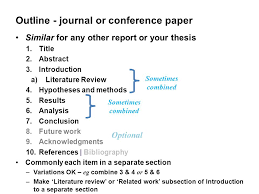 Topics Covered Abstract Headings Subheadings Introduction     Introduction    Literature Review    Methods
