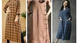 Latest Pocket Kurti Design Stylish Pocket Design For Kurtis Kurti Design With Pockets By Urwa Fashion Designer