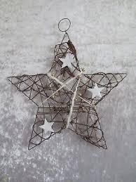 Stern Reben Weihnachten Türkranz Fensterdeko Perlen