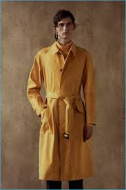a bold splash of yellow represents alexander mcqueen s reference to indian culture
