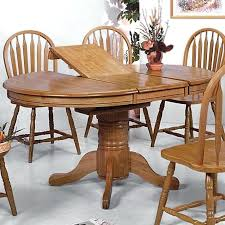oak pedestal dining table oak pedestal table and chairs crown mark solid oval pedestal dining table oak pedestal dining table