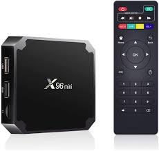 MenKouTA Android TV Box X96 Mini 2GB RAM 16GB ROM Set Top Box Amlogic S905W  Quad-core 2.4G WiFi 100M Ethernet H.265 4K/3D HDR Smart Media Player:  Amazon.ca: Electronics