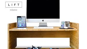 A desk gadget that