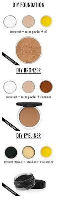 diy all natural makeup more