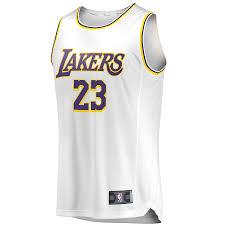 La White Lakers La Jersey Lakers White