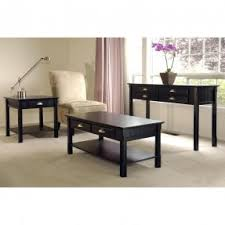 Black Coffee Table And End Table Sets