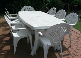 plastic patio furniture. Plastic Outdoor Dining Set Patio Table And Chairs Photo Gallery Recycled Furniture Sets . O