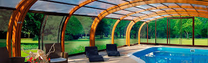 pool enclosure lighting. arched wooden pool enclosures enclosure lighting