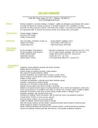 Paraprofessional Cover Letter Templates And Sample Resume For