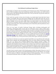 Small Picture garden landscape design pdf PDF Archive
