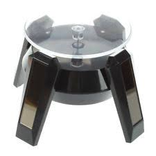 Rotating Display Stand Uk Solar Powered 100° Rotating Jewelry Watch Cellphone Display Stand 90