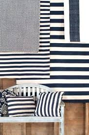 catamaran stripe navy ivory indoor outdoor rugs and white rug blue