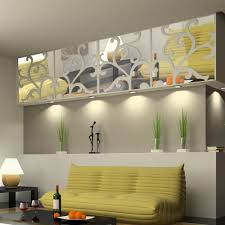 Mirror Design Wallpaper Us 11 09 46 Off 3d Diy Home Decoration Mirror Stick Modern Waterproof Design Mirror Stick Living Room Bedroom Wall Stickers In Wall Stickers From