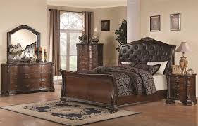 Mirrored Headboard Bedroom Set Upholstered Headboard Bedroom Sets Light Beige Upholstered Bed