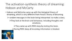 Biological Theory Biological Theory Of Dreams