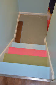 Awesome Painted Basement Stairs - Painted basement stairs