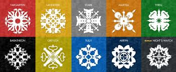 Snow Templates Free Snowflake Patterns Inspired By Game Of Thrones Krystal Higgins